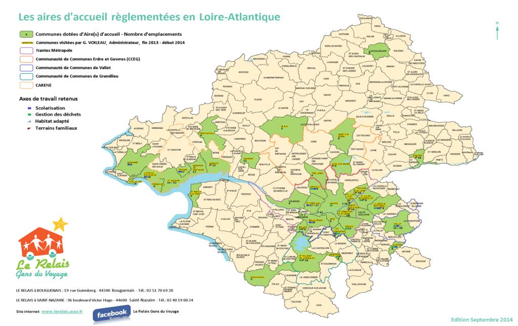 Carte-aires-daccueil-44-lerelais-gensduvoyage-nantes-google-bouguenais